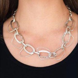 Very Avant-Garde silver necklace